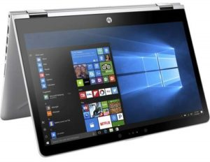HP Pavilion X360 14-inch 2-in-1 Touchscreen Business Laptop